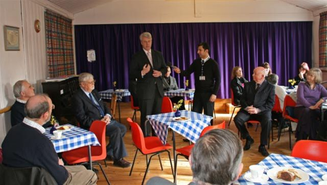 Mar 2011 Memory Cafe, Girton  WI Hall, High Street, Girton, CB3 0PU - Andrew Lansley opening the Memory Cafe
