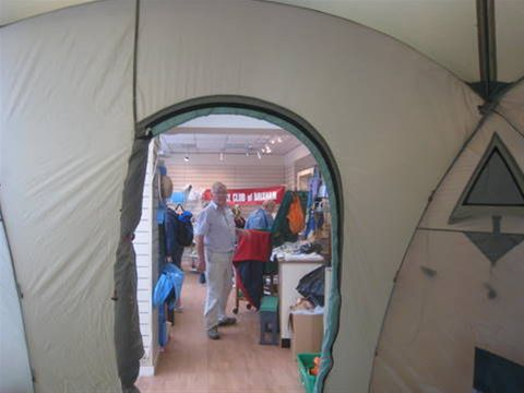 Brixham raises £1551 for ShelterBox - A tent with a view