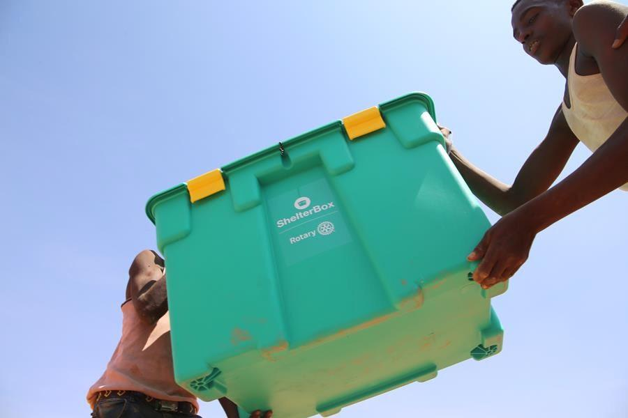 Two Shelterboxes Donated to the Indonesian Tsunami Appeal -