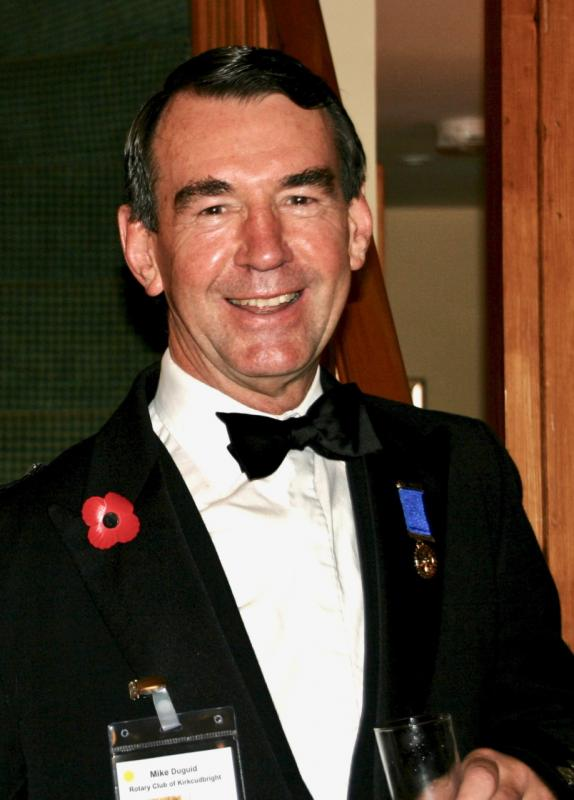 Our Fellow Rotarian - Mike Duguid -