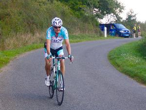 Extra Mile Challenge - An intrepid cyclist on the challenge