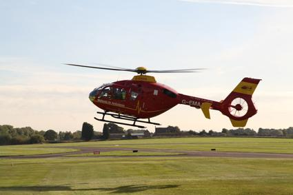 Visit to Midlands Air Ambulance, Cosford - -
