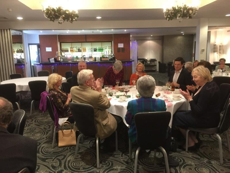 Inner Wheel Christmas Lunch 10th December 2017 -