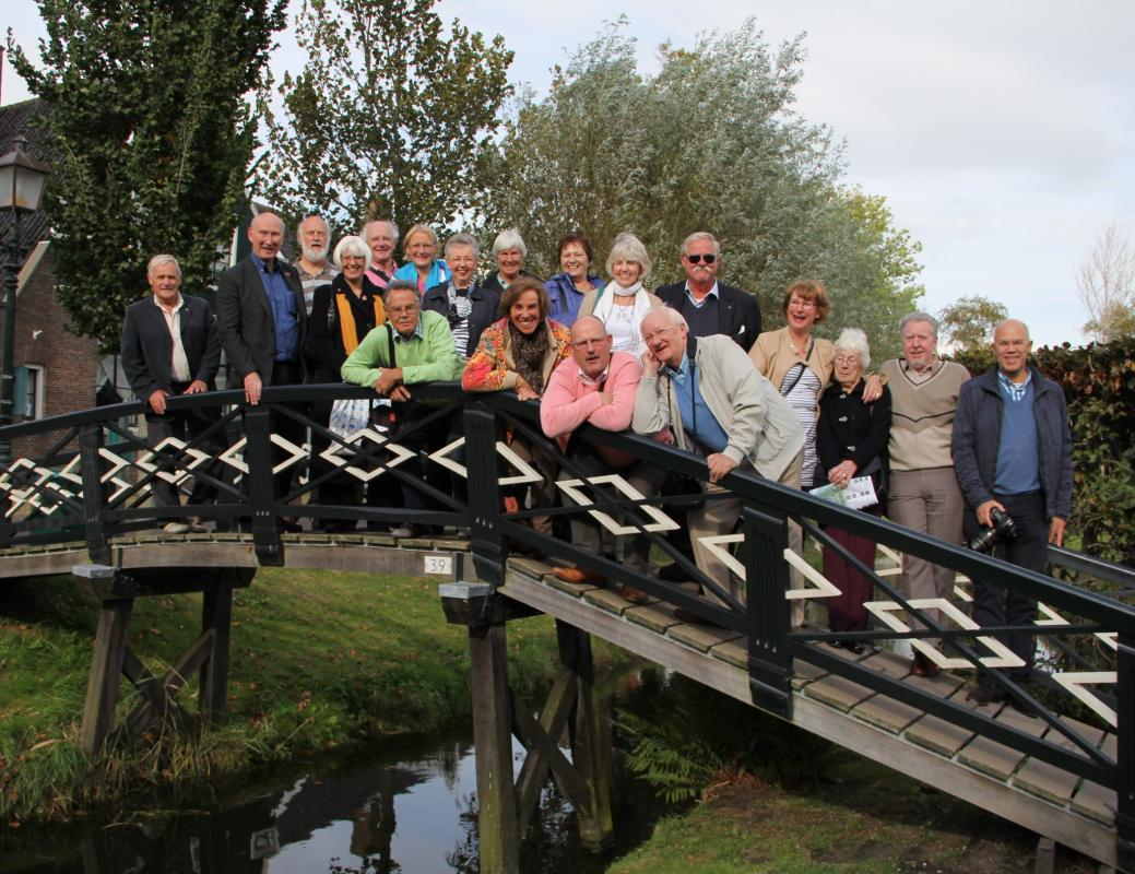 Weekend away visiting the Rotary Club of Tiel