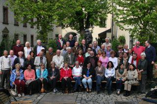 The Rotary Clubs of Princes Risborough and Wasserburg am Inn - Both clubs meet in Regensburg for a joint meeting with wives and partners in April 2013