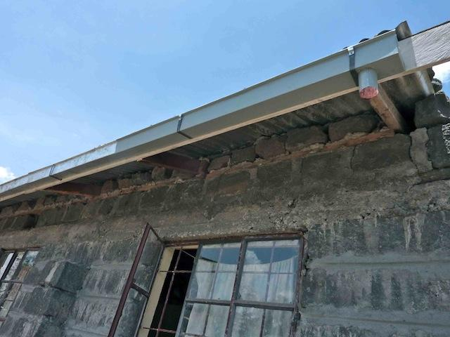 Help to Supply the Guttering -