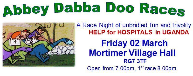 The Rotary Club of Reading Abbey proudly presents the Abbey Dabba Doo Races.