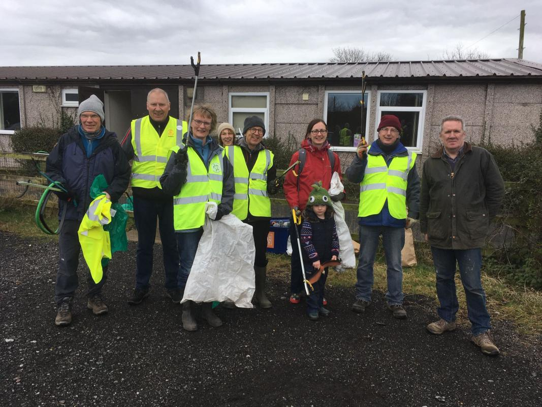 Village Clean up -
