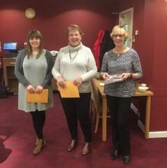 Tabitha Cobb, Ethel Morris and Maureen McColl were inducted as members of the club in January 2018