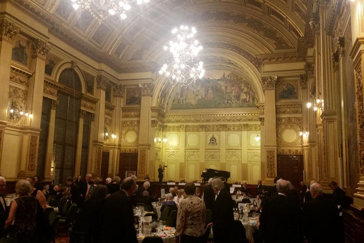 Foundation Centenary Dinner - Centenary Dinner held in the magnificent Glasgow City Chambers