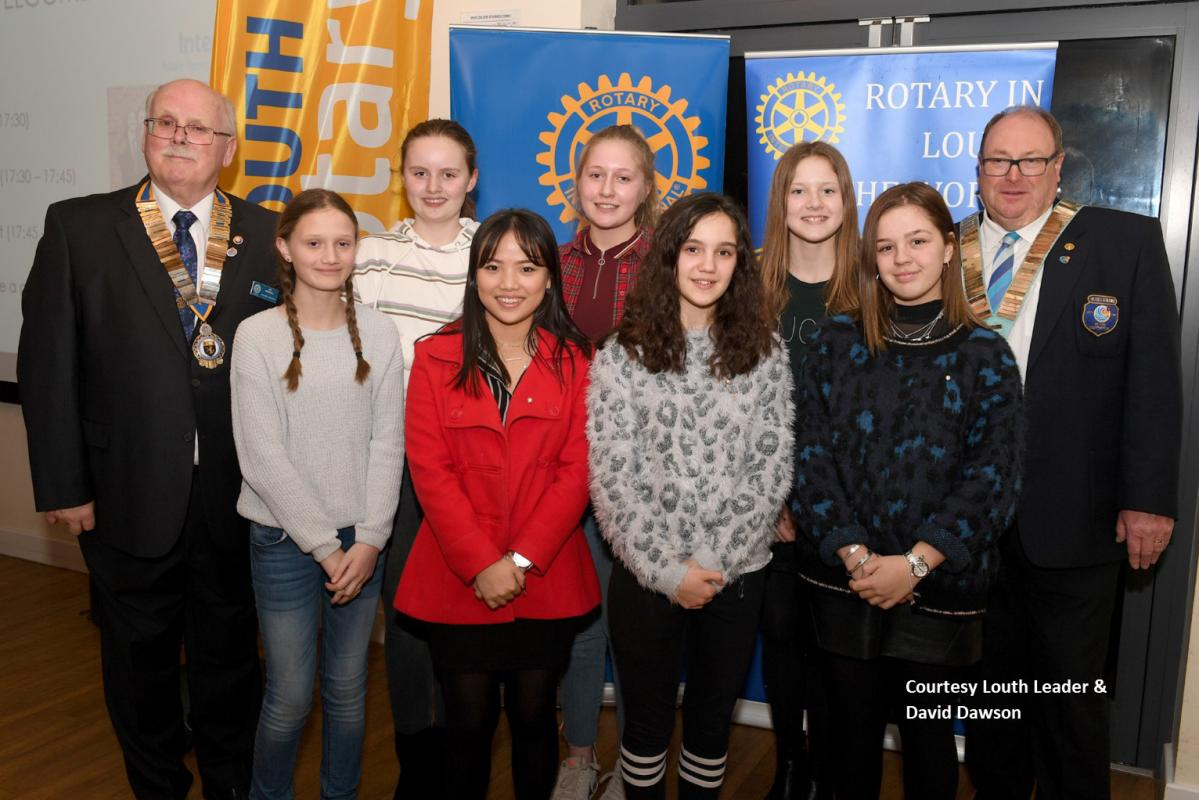 Louth's newest Rotary Club for young people