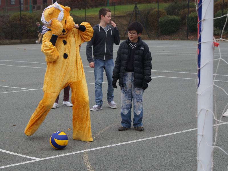 Interact - Children In Need - Friday 16th November 2012 - Children In Need Fundraising