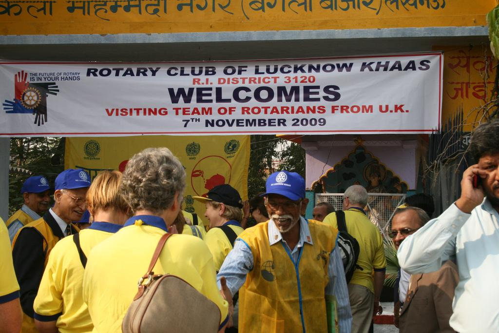 Rotary works on an international scale