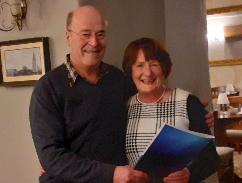 Janet Jones inducted to Bala & Penllyn Rotary Club