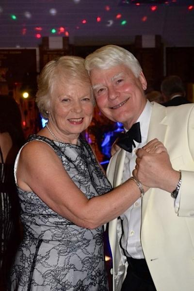 President's Night  - John and Lesley lead the dancing