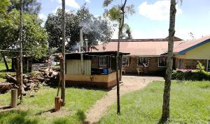 Children's centre buildings in up-country Kenya