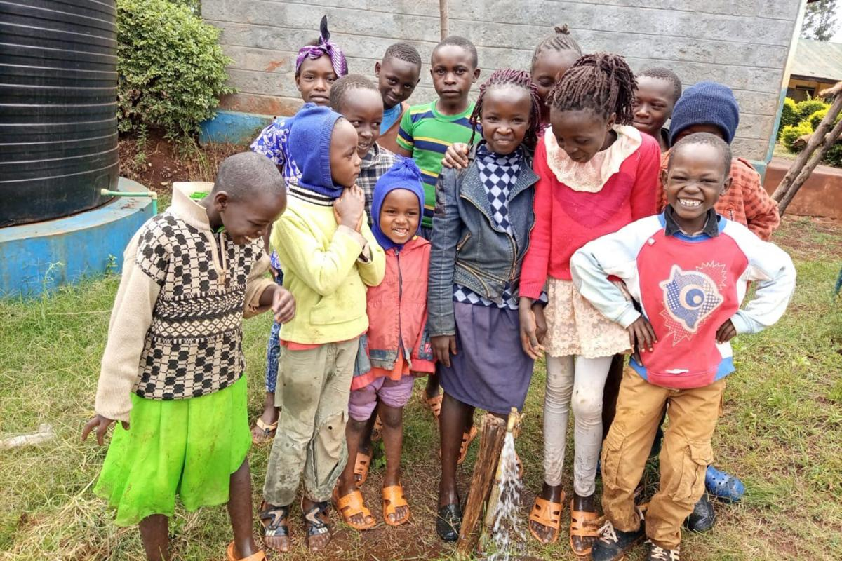 Make these Children Happy and Safe - Save them from impure unreliable water supplies.