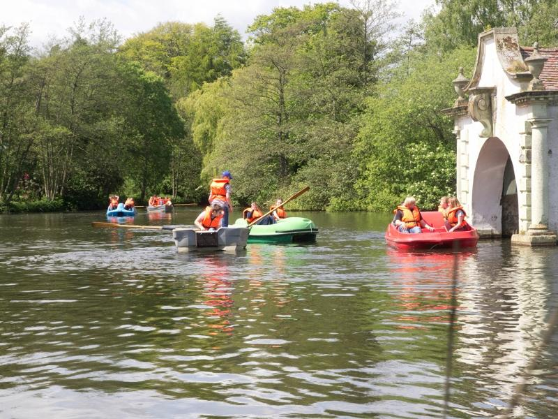 KidsOut 2015 - Boating at Craigtoun Country Park