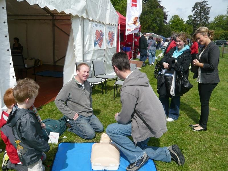Stroke Aware Day at Fife Show