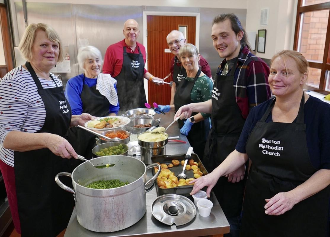Rotary Christmas Events 2019 - The Christmas Meals Kitchen Team