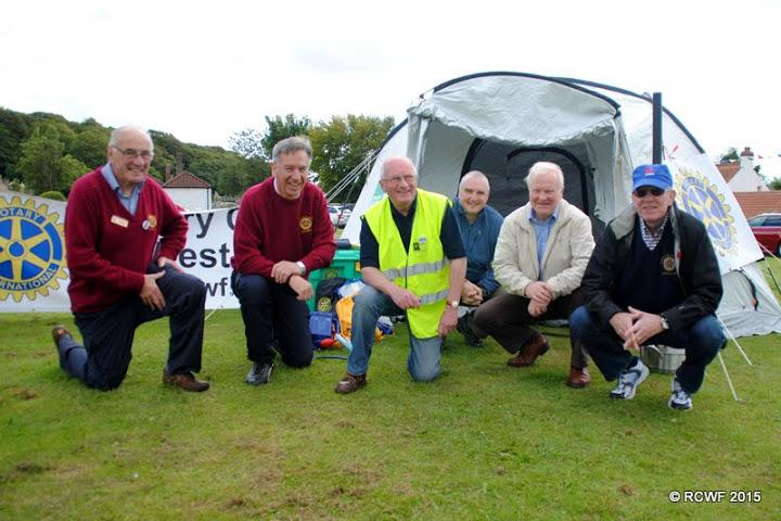 Limekilns Gala - Rotarians ready for the Limekilns and Charlestown public