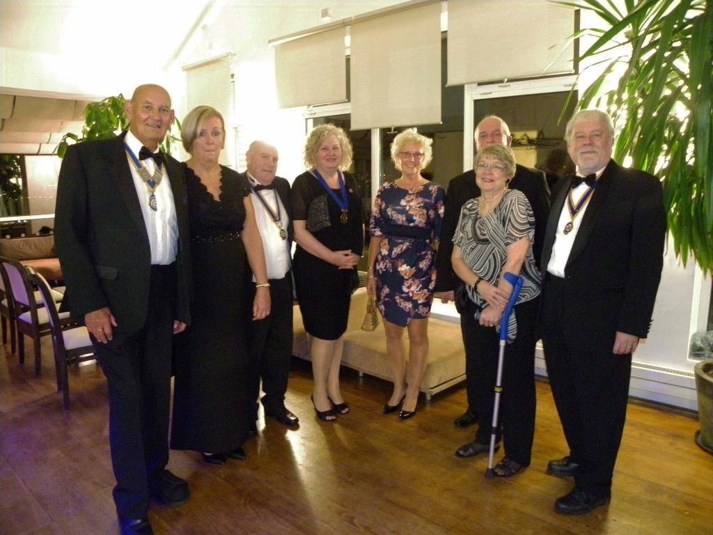 Ladies Evening - President David and Guests