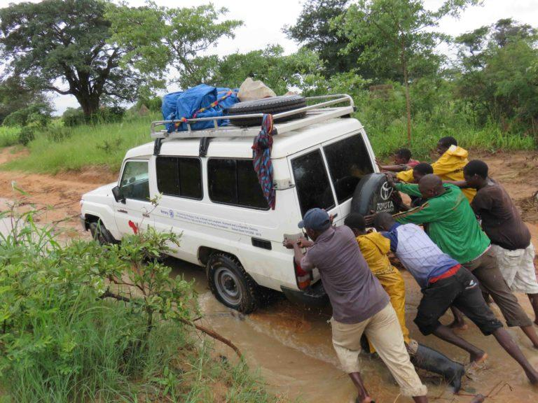 Landcruiser funded by Langholm Rotary
