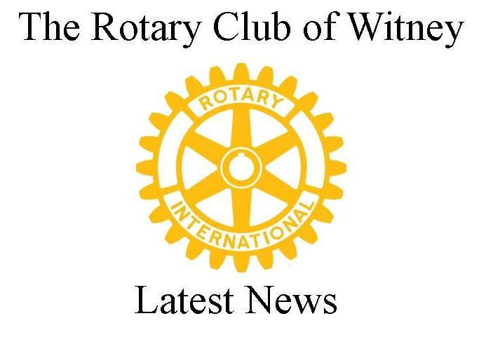keeping you informed about Witney Rotary Club activities