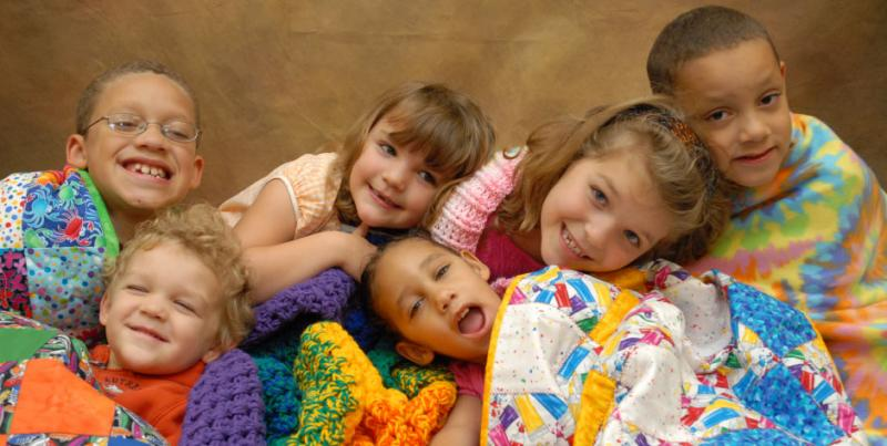 A voluntary organisation who provide handmade quilts and 'comfort blankets' for children in hospital.