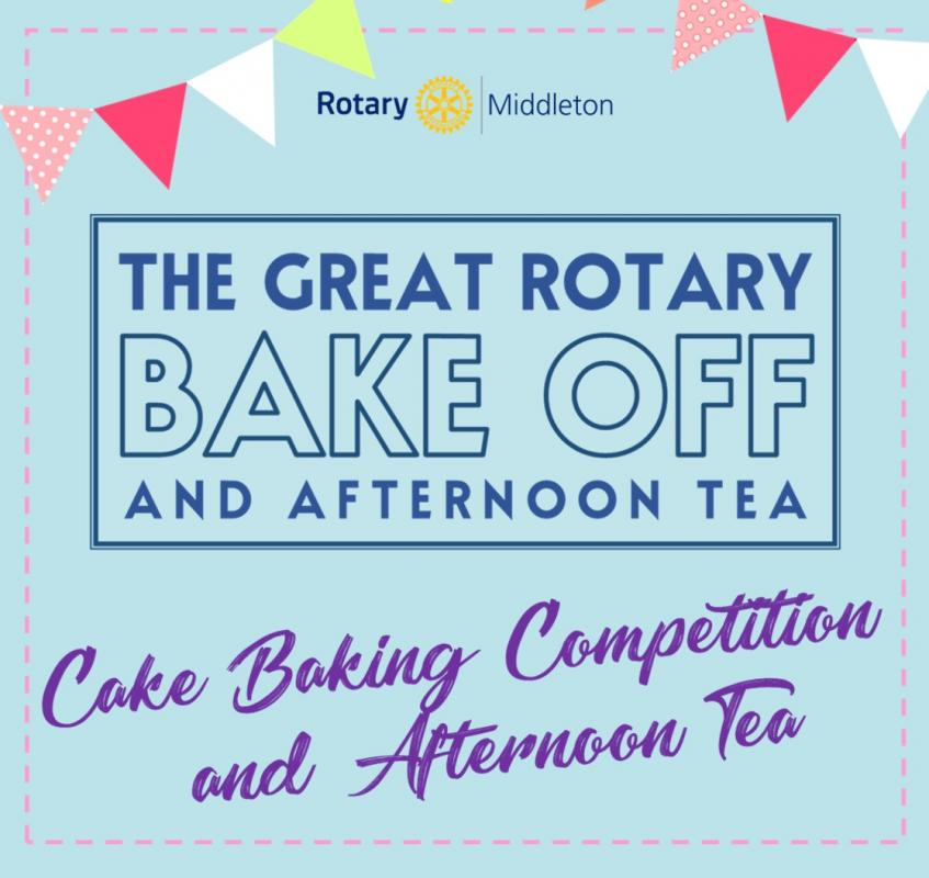 The Great Rotary Bake Off - Rotary Club of Middleton