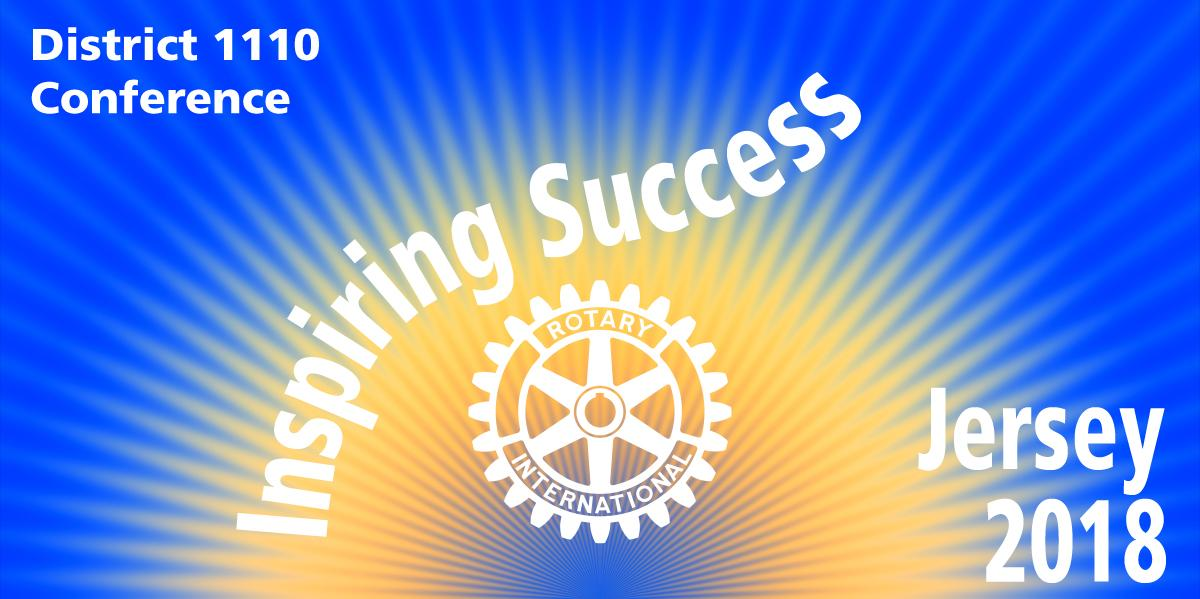 Inspiring Success Jersey 2018 Rotary District 1110 Conference