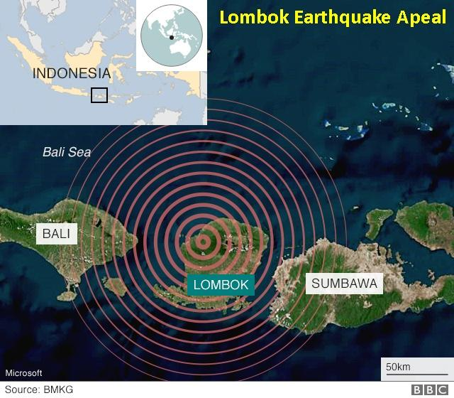Lombok Earthquake Appeal -
