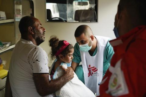 Donation for Beirut - Medecines San Frontieres reaches out in Beirut