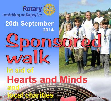 Charity Walk Sept 2014 - 12th Fife Coastal Path walk