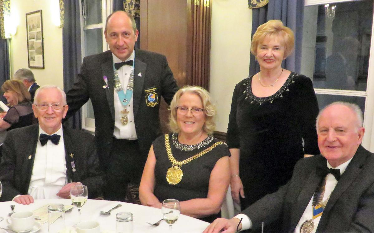 The 41st Charter Celebration of Liverpool Exchange Rotary Club