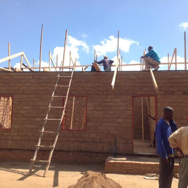 International Support & Projects - Chipiti Classroom Construction