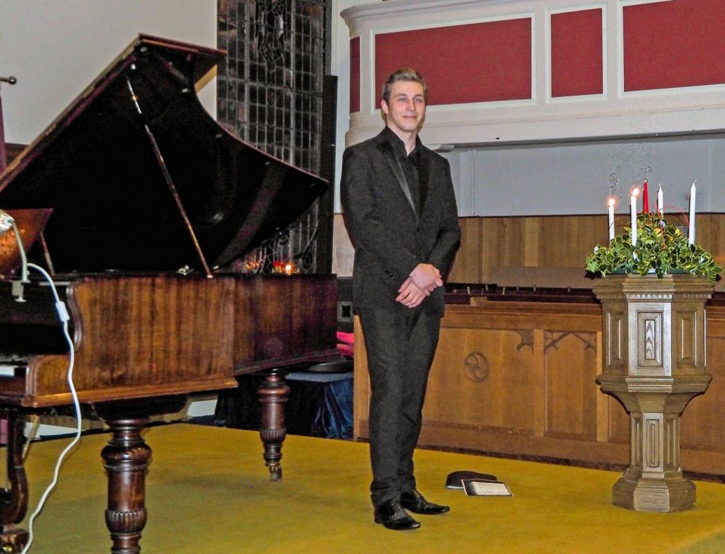 Autumn Recital - An Evening of Song with Marcus Swietlicki -