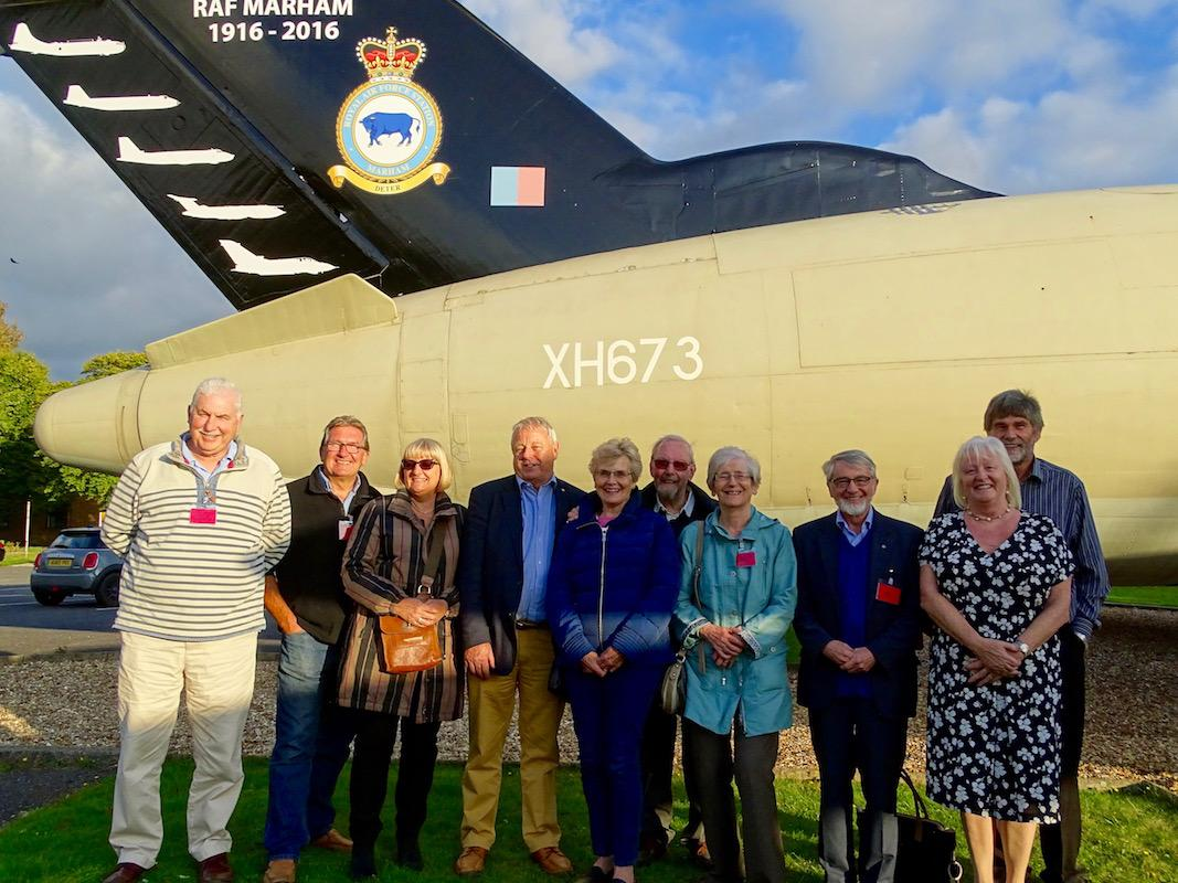 Members and Guest's Visit to RAF Marham 04 October 2016 -                     Click of more Pictures