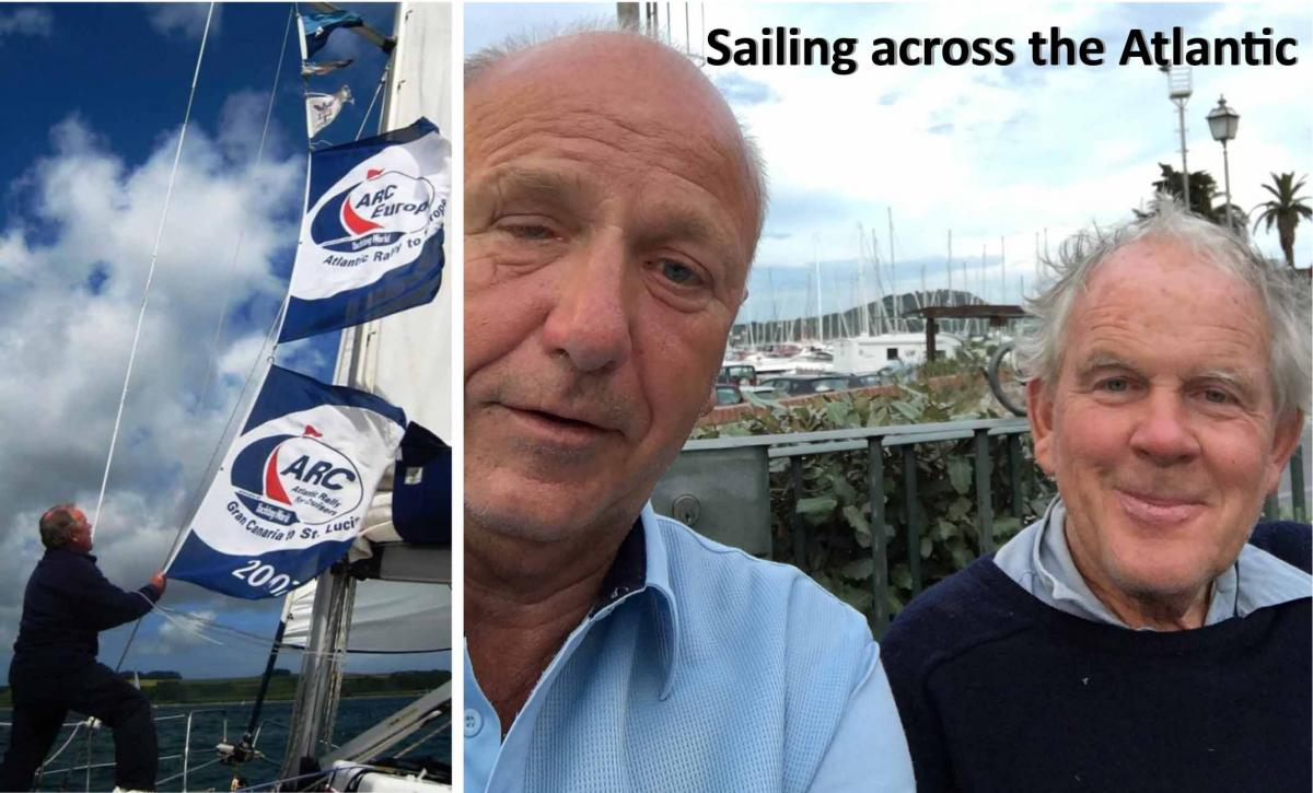 Speaker meeting Brig (Retd) Martin Roberts OBE Subject: Sailing with Colin -
