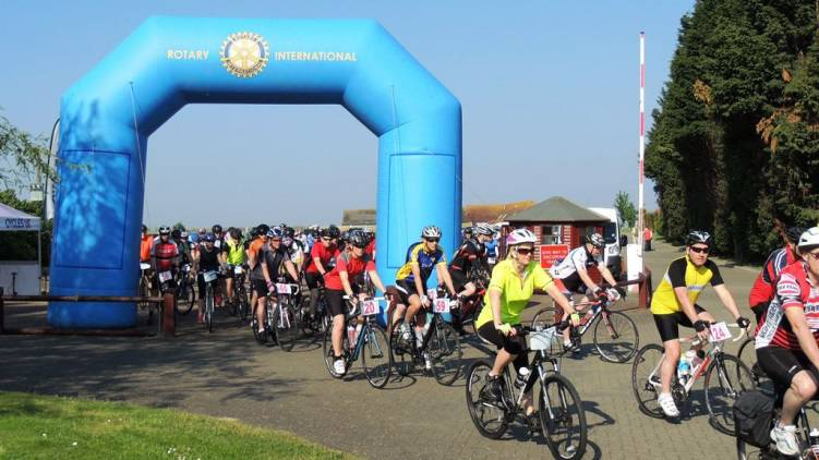 Basildon Rotary Club Bike Ride