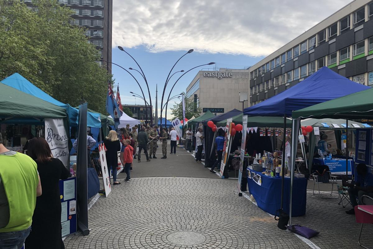Basildon Concord Mayfest 2018 -  A Festival of Stalls