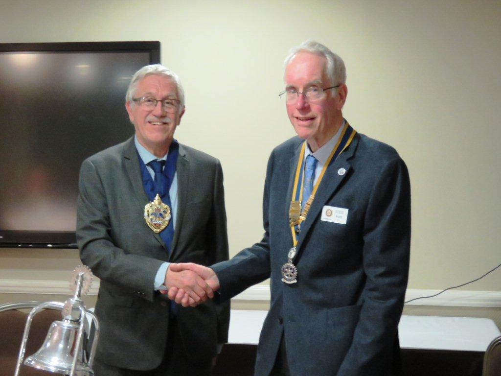 Inductions and a visit from the Mayor -