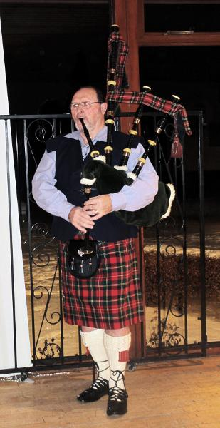 Burns Supper - Piper Bill McRobb