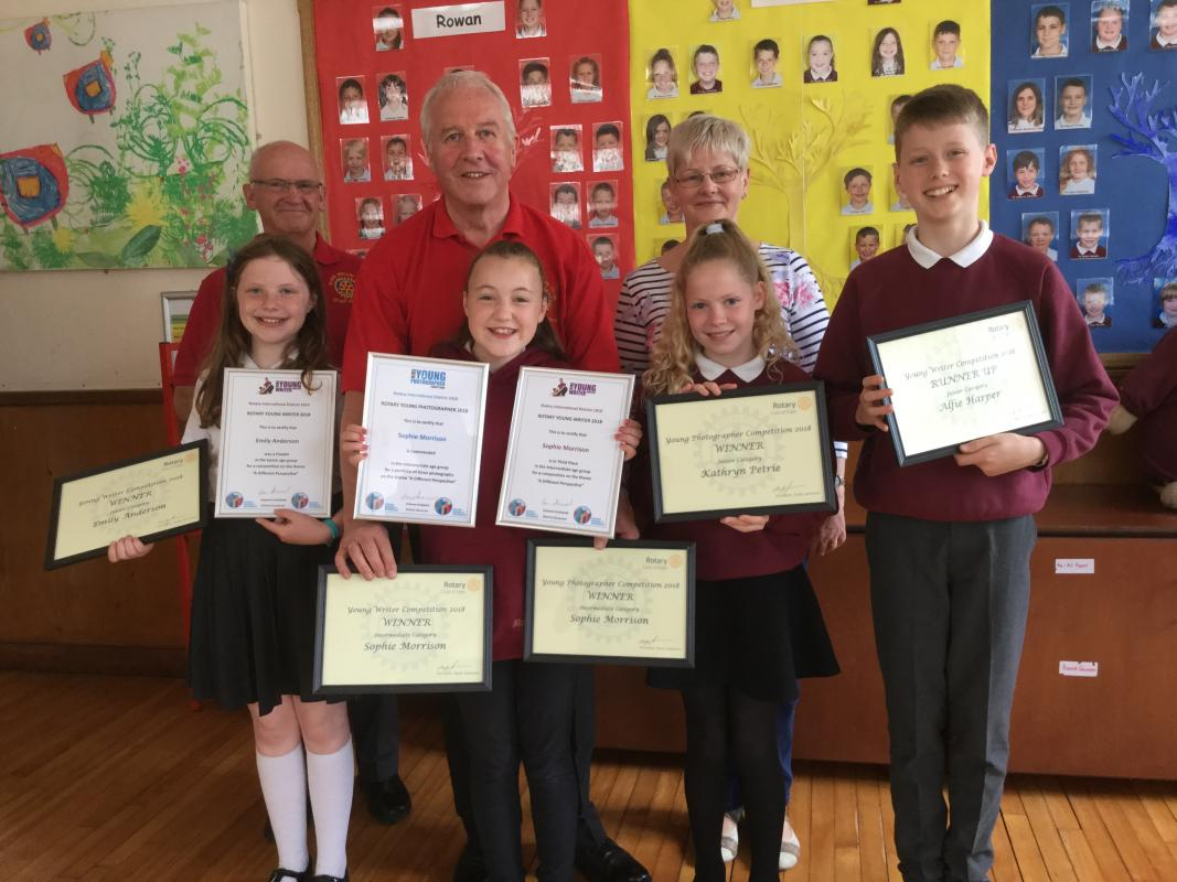 Mosstowie Primary School Winners 2018