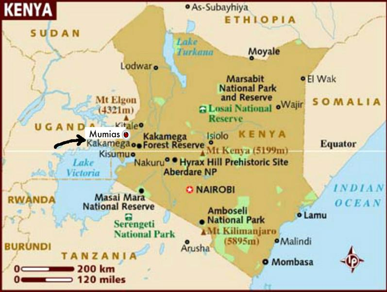 Africa Physical Map 2014 Provision of Informati...