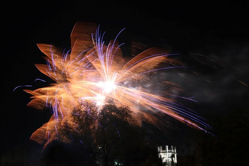 Some of the Fireworks on show