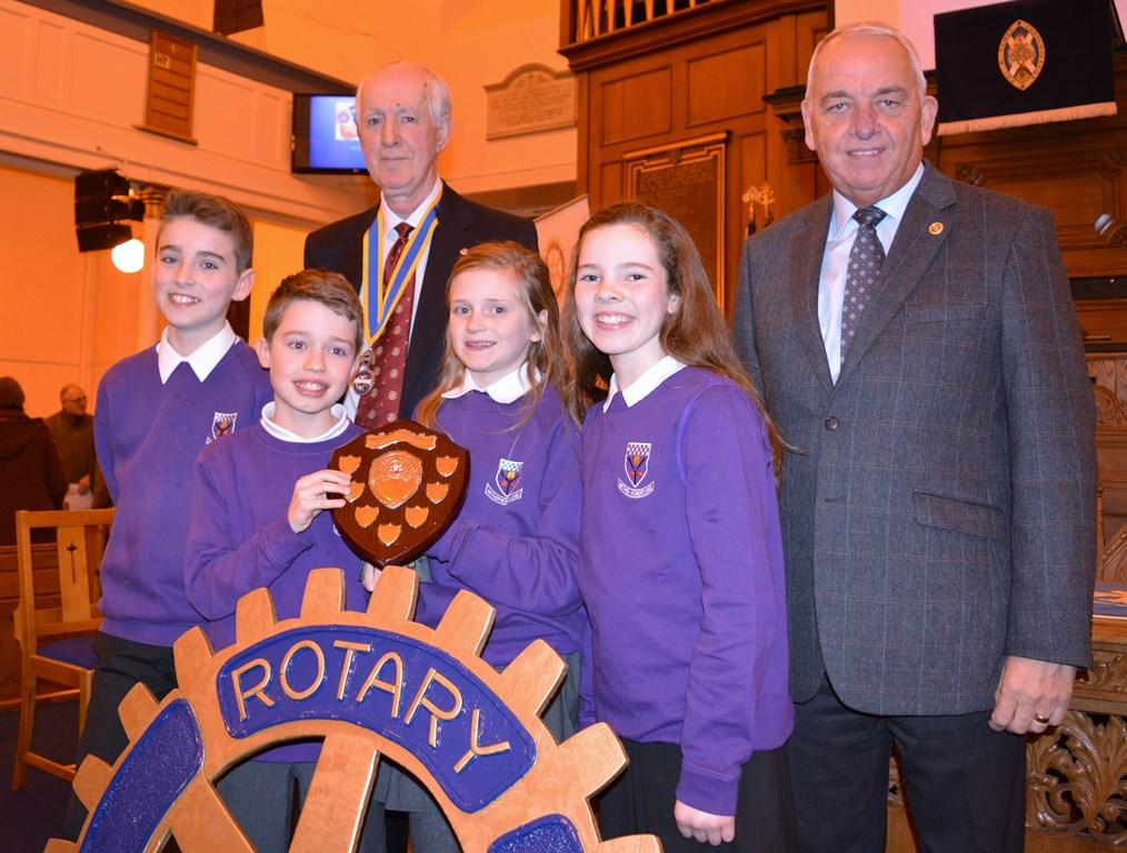 Our Annual Primary Schools Quiz - Winners 2017 - Nether Robertland Primary School