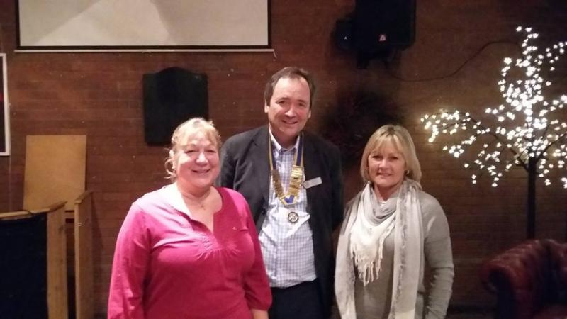 David with new members Linda and Sue