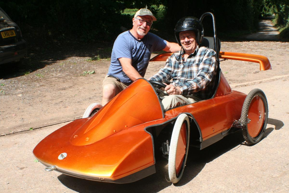 Newent Rotary Soap Box Racer -