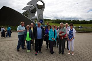 Falkirk Wheel Visit 29th June 2014 -